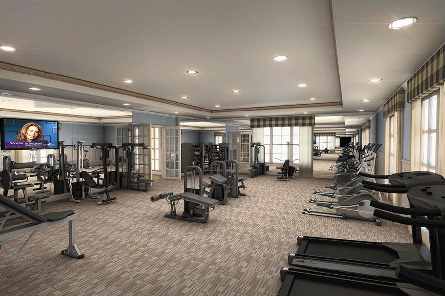 colony reserve fitness center
